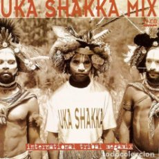 CDs de Música: UKA SHAKKA MIX - INTERNATIONAL TRIBAL MEGAMIX - CD. Lote 245886370