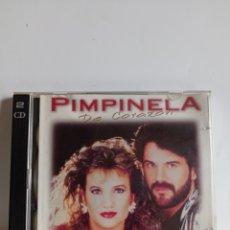 """CDs de Música: CD PIMPINELA """" DE CORAZON """" / EDITADO POR SONY MUSIC - 1997. Lote 245889475"""
