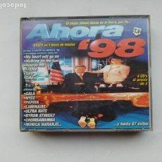 CDs de Música: AHORA '98. 4 CD'S. BLANCO Y NEGRO. TDKCD37. Lote 245898255