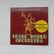 CDs de Música: TRANS WORLD ORCHESTRA. LIKE MOLTEN LAVA IN YOUR VEINS. CD. TDKCD37. Lote 245900750