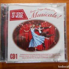 CDs de Música: CD MY KIND OF MUSIC - GREAT SONGS FROM THE MUSICALS! (C4). Lote 245909360