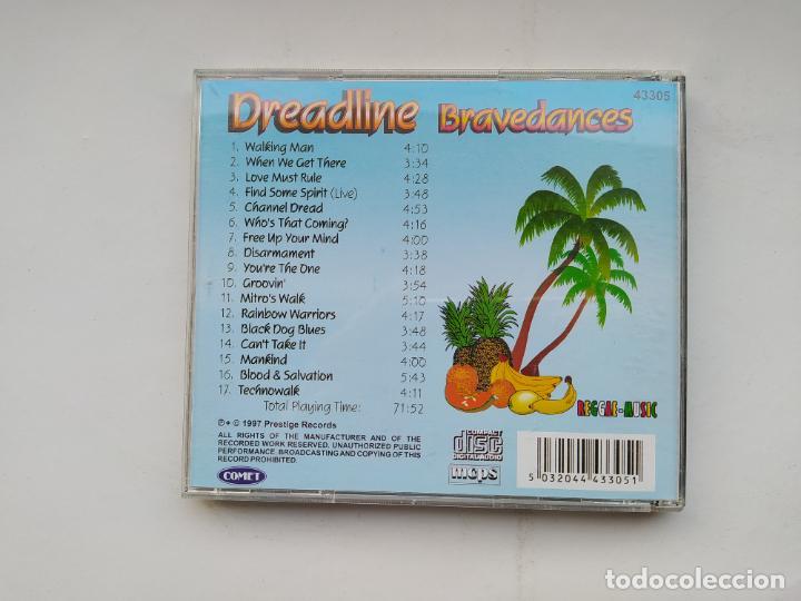 CDs de Música: DREADLINE BRAVEDANCES. REGGAE MUSIC. CD. TDKCD37 - Foto 3 - 245947770