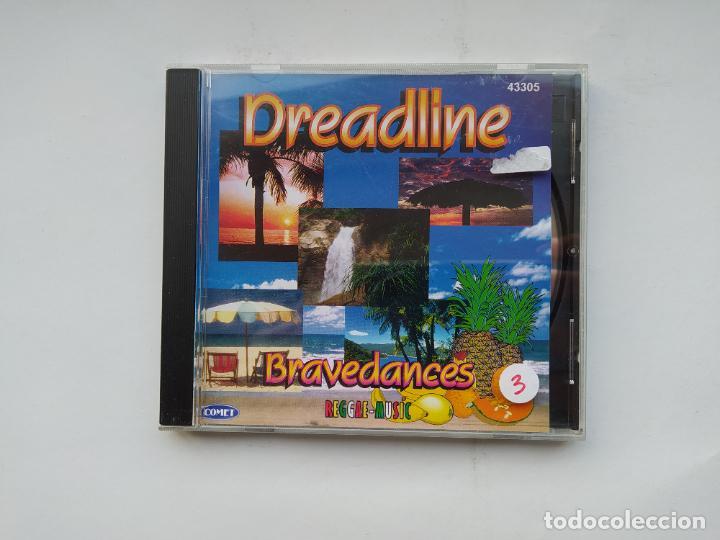 DREADLINE BRAVEDANCES. REGGAE MUSIC. CD. TDKCD37 (Música - CD's Reggae)