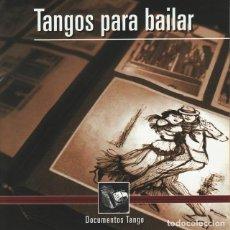 CDs de Música: TANGOS PARA BAILAR - NUEVO Y PRECINTADO. Lote 245950750