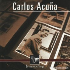 CDs de Música: CARLOS ACUNA - DOCUMENTOS TANGO - NUEVO Y PRECINTADO. Lote 245951160