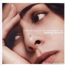 CDs de Música: MARISA MONTE - MEMORIES, CHRONICLES AND DECLARATIONS OF LOVE. Lote 245951390