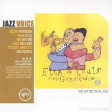 CDs de Música: ELLA FITZGERALD & LOUIS AMSTRONG - ELLA & LOUIS SING GERSHWIN. Lote 245959410