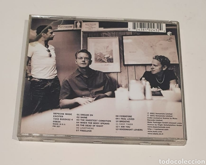 CDs de Música: DEPECHE MODE / CD / EXCITER - Foto 3 - 245978475