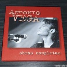 CDs de Música: ANTONIO VEGA / BOX SET 10CD+DVD+LIBRO (NUMERADA) / OBRAS COMPLETAS. Lote 245980450