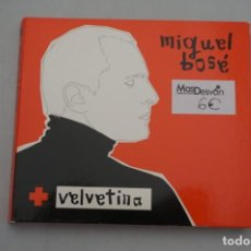 CDs de Música: CD/ MIGUEL BOSE + VELVETINA - DOBLE CD. Lote 246055600