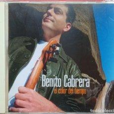 CDs de Música: BENITO CABRERA - EL COLOR DEL TIEMPO CD. Lote 246094510