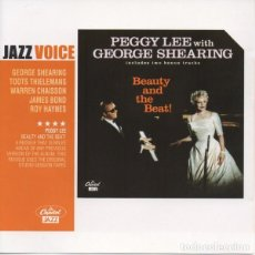 CDs de Música: PEGGY LEE WITH GEORGE SHEARING - BEAUTY AND THE BEAT. Lote 246120205