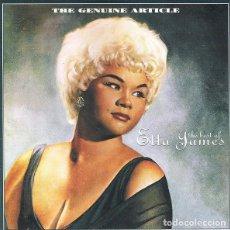 CDs de Música: ETTA JAMES - THE GENUINE ARTICLE (THE BEST OF). Lote 246123345
