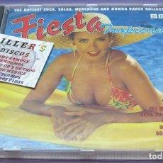 CDs de Música: FIESTA TROPICANA - THE HOTTEST SOCA, SALSA, MERENGUE AND RUMBA DANCE COLLECTION - CD. Lote 246132865