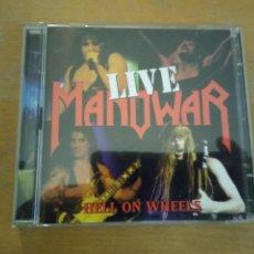 CDs de Música: MANOWAR LIVE HELL ON WHEELS 2XCDS. Lote 246150850