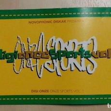 "CDs de Música: DIGI ONCE ""SPORTS"" JAVI PEZ, LOREAK MENDIAN, NOVOPHONIC, DONOSTI SOUND. Lote 246156860"
