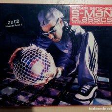 """CDs de Música: ROGER SANCHEZ """"S MAN CLASSICS"""" 2 CD. Lote 246161250"""