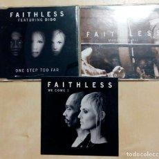 "CDs de Música: FAITHLESS ""LOTE 3 MAXISINGLES"". Lote 246162655"