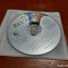 CDs de Música: EL REY LEÓN. CD BANDA SONORA DE LA PELÍCULA CON 11 TEMAS. EN FUNDA DE PLÁSTICO. Lote 246189715