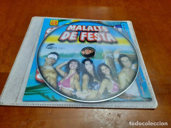 MALALTS DE FESTA. CD EN FUNDA DE PLÁSTICO. SOLO CD MÁS CARÁTULA DELANTERA. LE FALTA LO DEMÁS (Música - CD's Rock)