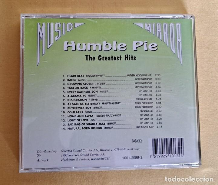 CDs de Música: HUMBLE PIE - THE GREATEST HITS - CD, SELECTED SOUND CARRIER 1993 - Foto 4 - 246196165