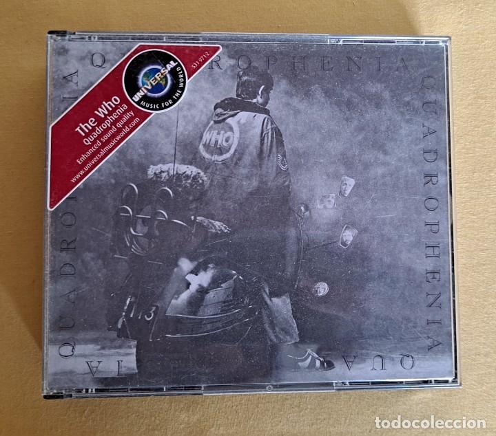 CDs de Música: THE WHO - QUADROPHENIA - DOBLE CD, POLYDOR 1996 - Foto 2 - 246196205