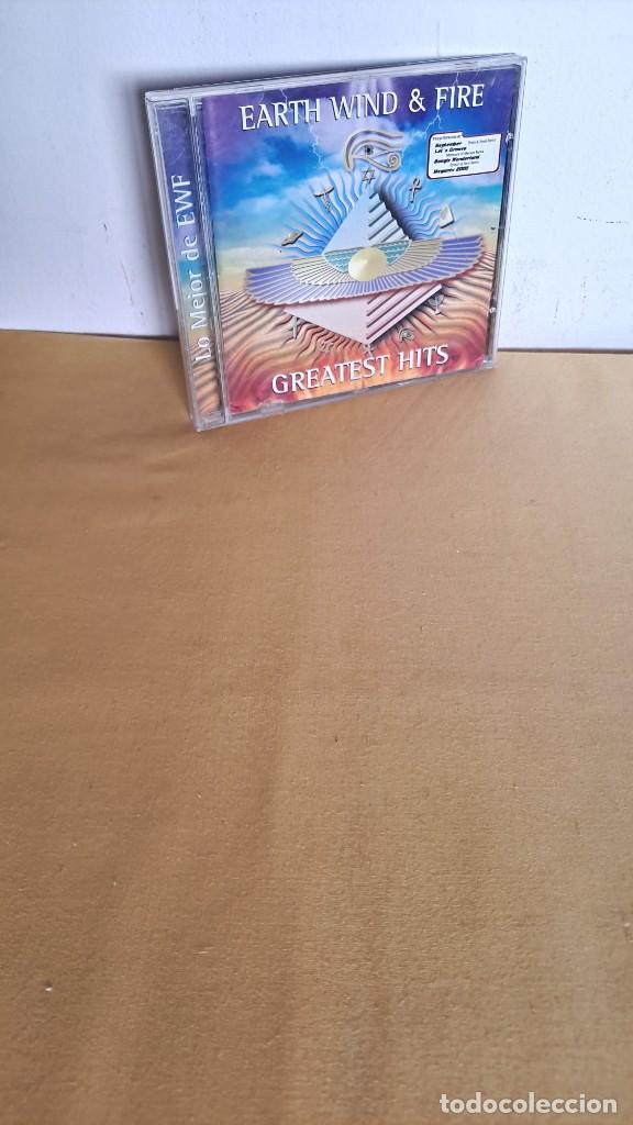 EARTH WIND AND FIRE - GREATEST HITS - CD, SONY MUSIC 2000 (Música - CD's Rock)