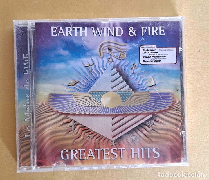 CDs de Música: EARTH WIND AND FIRE - GREATEST HITS - CD, SONY MUSIC 2000 - Foto 2 - 246196570