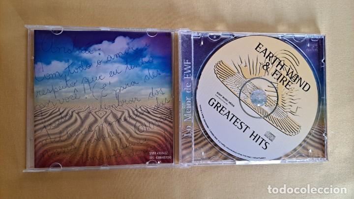 CDs de Música: EARTH WIND AND FIRE - GREATEST HITS - CD, SONY MUSIC 2000 - Foto 3 - 246196570