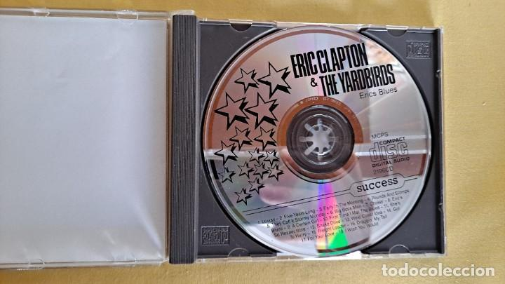 CDs de Música: ERIC CLARTON & THE YARDBIRDS - ERICS BLUES - CD, SUCCESS 1990 - Foto 3 - 246196655