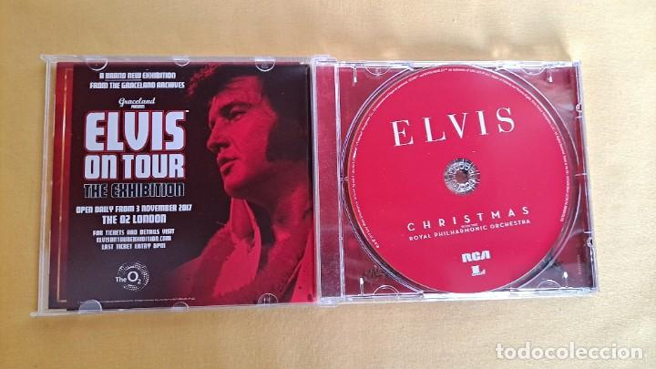 CDs de Música: ELVIS PRESLEY - CHRISTMAS WITH PHILHARMONIC ORCHESTRA - CD, SONY MUSIC 2017 - Foto 3 - 246196770
