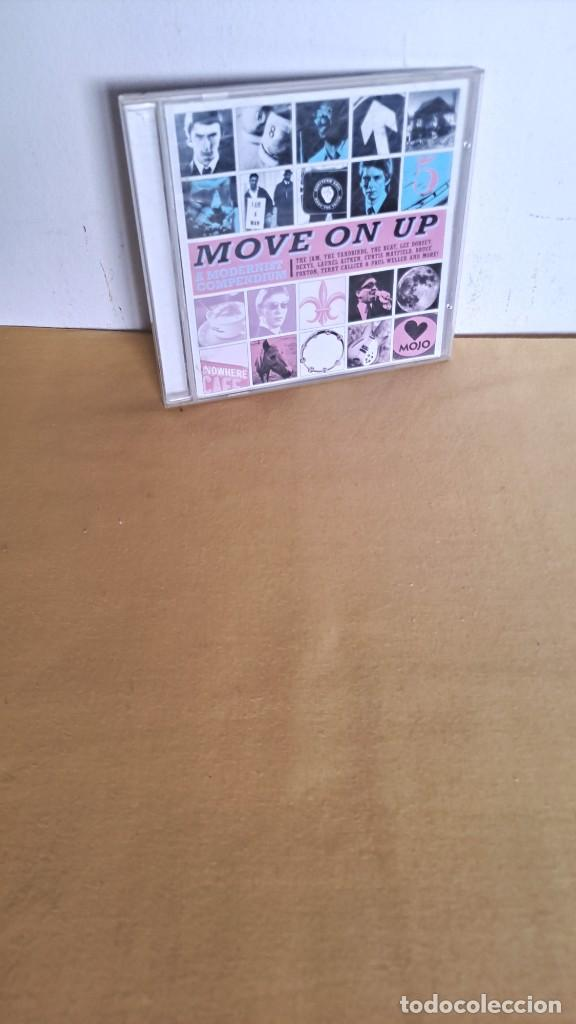 MOVE ON UP - A MODERNIST COMPENDIUM, VARIOS ARTISTAS - CD, MOJO MAGAZINE 2012 (Música - CD's Rock)