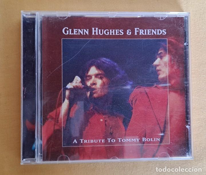 CDs de Música: GLENN HUGHES & FRIENDS - A TRIBUTE TO TOMMY BOLIN - CD, EVENT RECORDS 1999 - Foto 2 - 246197005