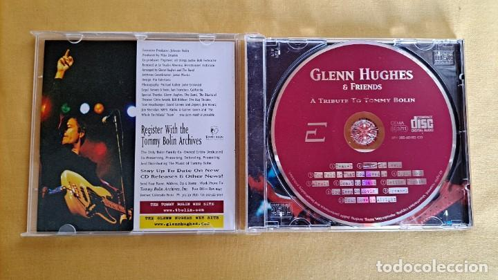 CDs de Música: GLENN HUGHES & FRIENDS - A TRIBUTE TO TOMMY BOLIN - CD, EVENT RECORDS 1999 - Foto 3 - 246197005