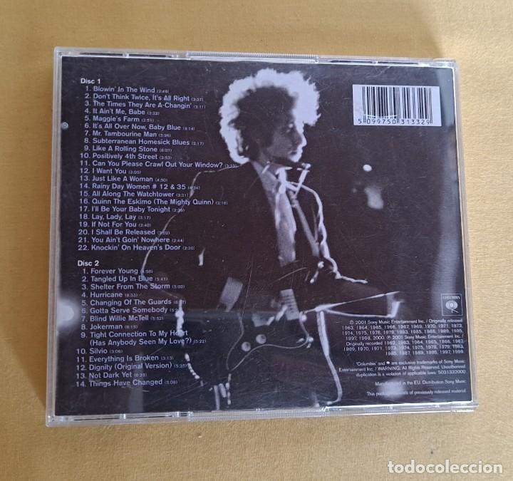 CDs de Música: BOB DYLAN - THE ESSENTIAL BOB DYLAN - DOBLE CD, COLUMBIA 2001 - Foto 5 - 246197110