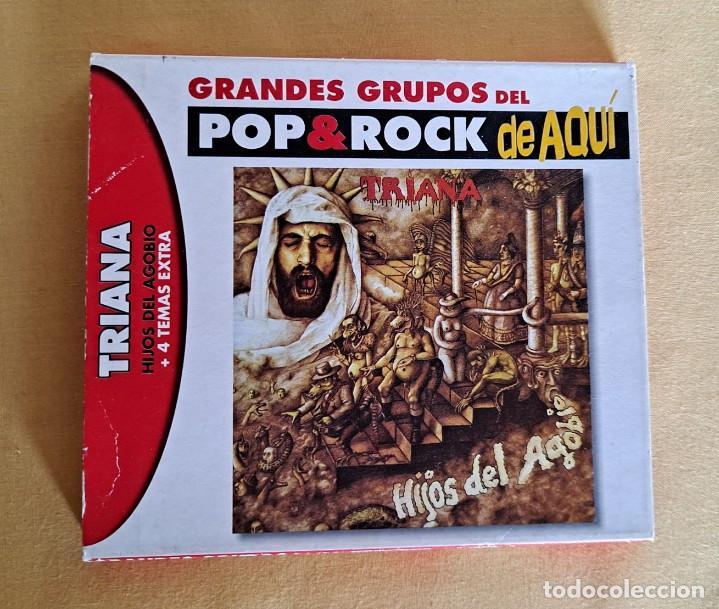 CDs de Música: TRIANA - HIJOS DEL AGOBIO + 4 TEMAS EXTRA - CD, DRO EAST WEST 2003 - Foto 2 - 246201245