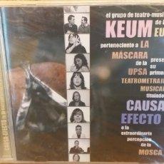 CDs de Música: KEUM CD DVD CAUSA-EFECTO LA EXTRAORDINARIA PERCEPCIÓN DE LA MOSCA NUEVO Y PRECINTO + 5 € ENVIO C.N.. Lote 246218160