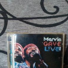 CDs de Música: MARVIN GAYE - LIVE. Lote 246236200