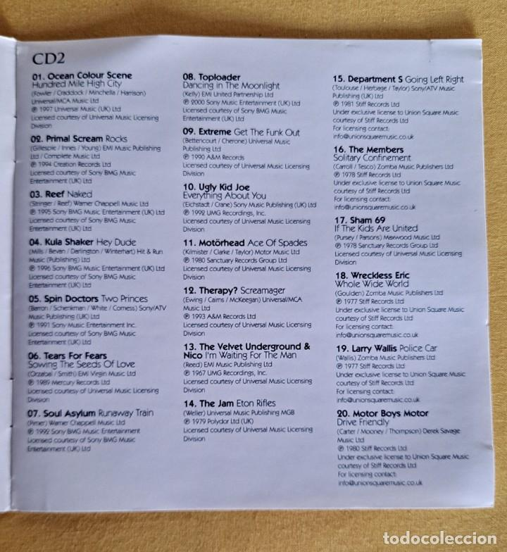 CDs de Música: THE ULTIMATE COLLECTION ROCK 100 HITS - 5 CDS, UNION SQUARE MUSIC 2008 - Foto 9 - 246285135