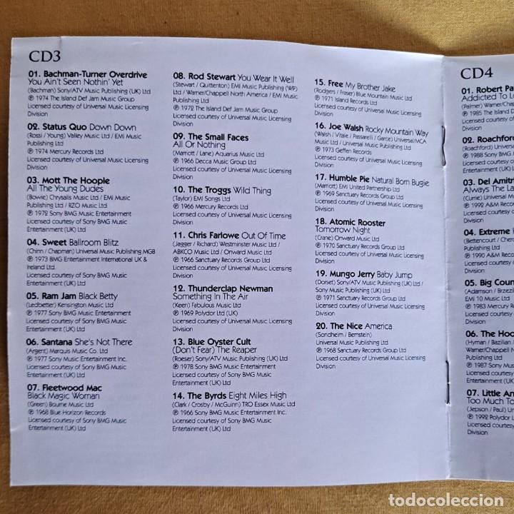 CDs de Música: THE ULTIMATE COLLECTION ROCK 100 HITS - 5 CDS, UNION SQUARE MUSIC 2008 - Foto 10 - 246285135