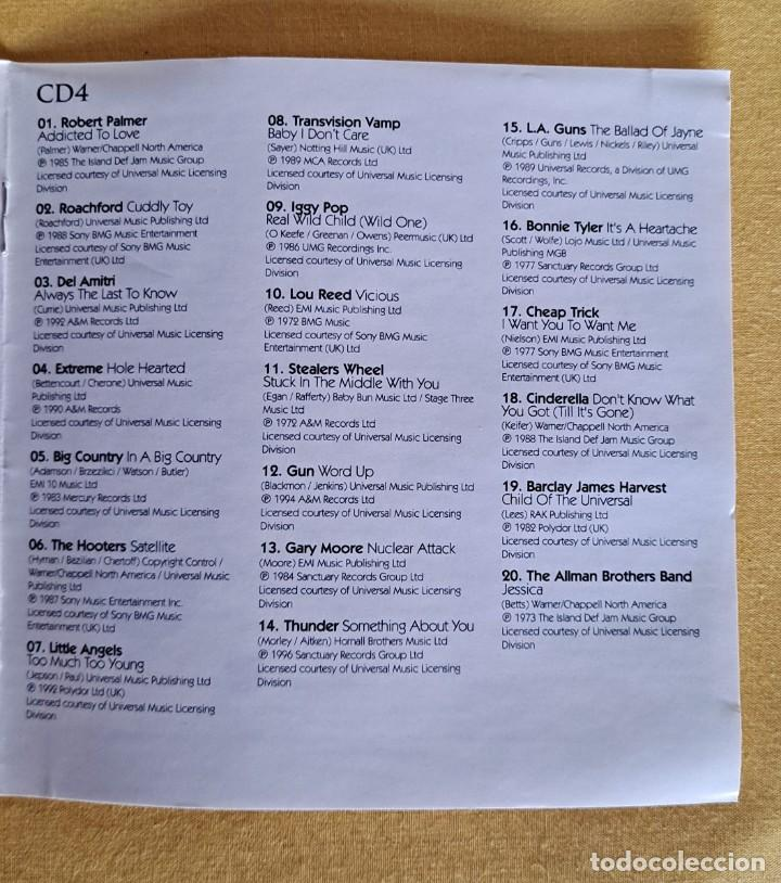 CDs de Música: THE ULTIMATE COLLECTION ROCK 100 HITS - 5 CDS, UNION SQUARE MUSIC 2008 - Foto 11 - 246285135