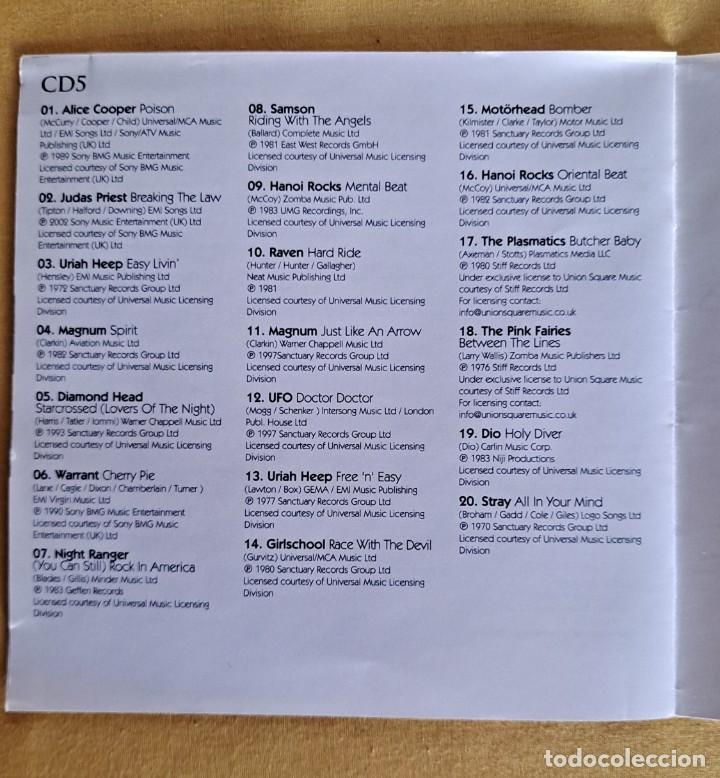 CDs de Música: THE ULTIMATE COLLECTION ROCK 100 HITS - 5 CDS, UNION SQUARE MUSIC 2008 - Foto 12 - 246285135
