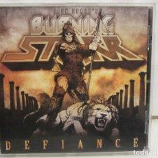 CDs de Música: JACK STARR BURNING STARR - DEFIANCE - CD - 2009 - EUROPE - G/EX+. Lote 246298960