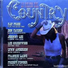 CDs de Música: LO MEJOR DEL COUNTRY - DOBLE CD - DIVUCSA. Lote 246313110