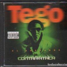 CDs de Musique: TEGO - CONTRA ATACA / CD ALBUM DEL 2007 / MUY BUEN ESTADO RF-9233. Lote 246336635