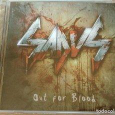 CDs de Música: (SIN ABRIR) SADUS - OUT FOR BLOOD + BONUS VIDEOS. Lote 246342865
