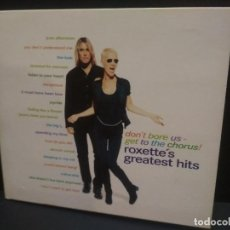 CDs de Música: ROXETTE ROXETTE'S GREATEST HITS CD/CARTON HOLANDA 1995 PDELUXE. Lote 246346185