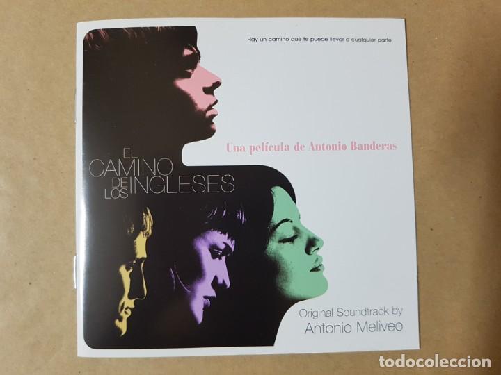 BSO ORIGINAL EL CAMINO DE LOS INGLESES CON RAÚL ARÉVALO. MÚSICA DE ANTONIO MELIVEO. ANTONIO BANDERAS (Música - CD's Bandas Sonoras)