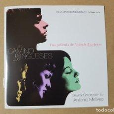 CDs de Música: BSO ORIGINAL EL CAMINO DE LOS INGLESES CON RAÚL ARÉVALO. MÚSICA DE ANTONIO MELIVEO. ANTONIO BANDERAS. Lote 246347075