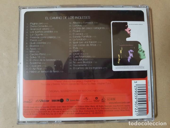 CDs de Música: BSO Original El Camino de los Ingleses con Raúl Arévalo. Música de Antonio Meliveo. Antonio Banderas - Foto 3 - 246347075